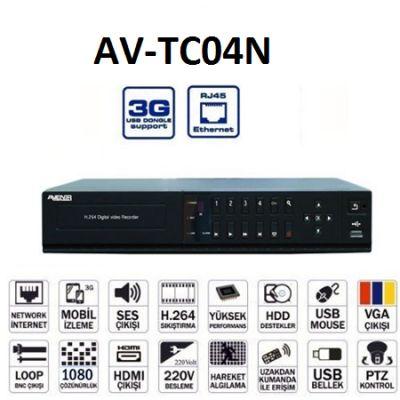 AV-TC04N Hybrid Kayıt...
